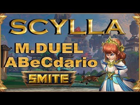 SMITE! Scylla, El cooldown es daño ;)! Master Duel Abecedario #64