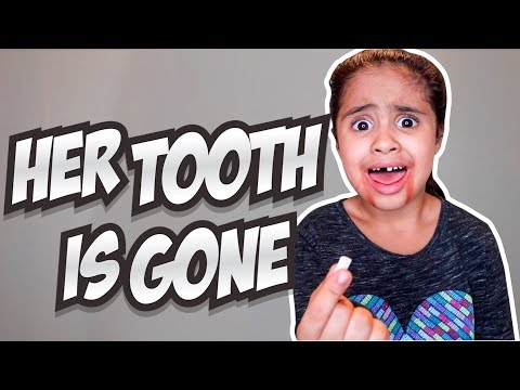 HER TOOTH IS GONE *revenge prank*