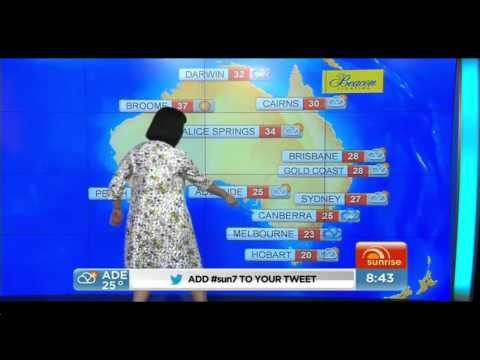 KATY PERRY WEATHER WOMAN :)