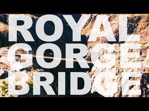 4K Epic Drone Footage of Royal Gorge and Arkansas River Filmed with DJI Mavic Pro