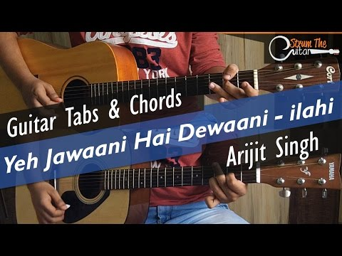 Guitar likhith kurba guitar tabs : Ilahi | Yeh Jawaani Hai Dewaani - Guitar Tabs (Lead) & Chords ...