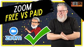 Zoom Basic vs Zoom Pro -  (What is the Difference, Free vs Paid)