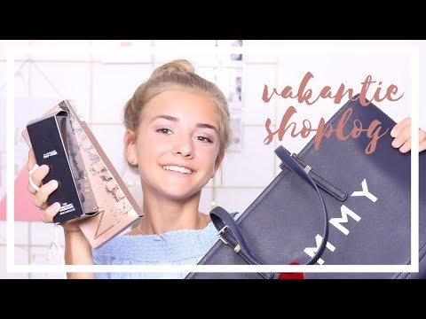 Vakantie Shoplog- Makeup, Tas en Pakketjes | R O S A L I E