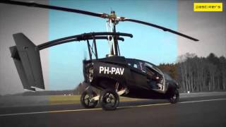 The PAL V One Flying Car Concept 2