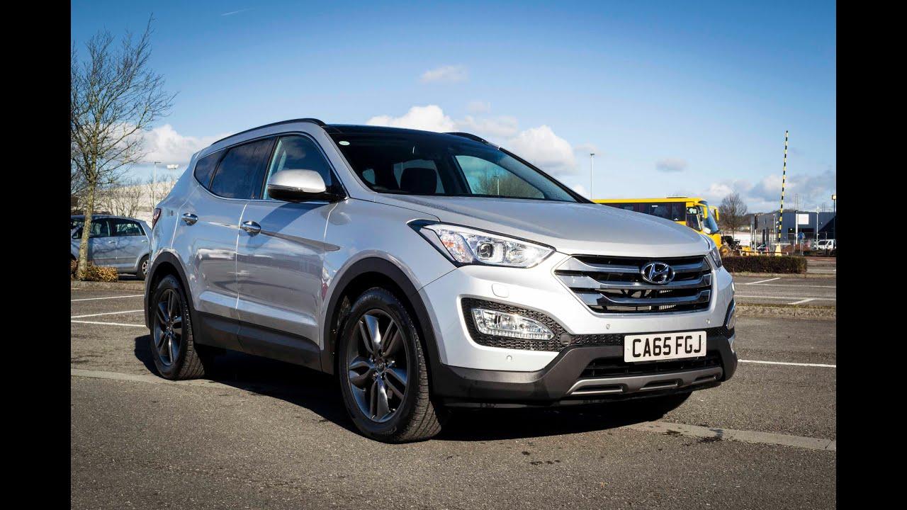 Wes Garages Newport Used Hyundai Santa Fe CRDI Premium SE
