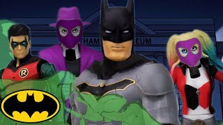 Museum Mischief | Batman Missions: Stop-Motion Adventures | DC Kids