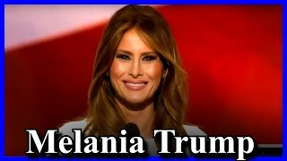 Melania Trump Speech at the Republican National Convention 2016 Cleveland RNC [AMAZING]