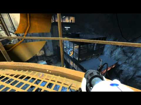 Portal 2 - Leaving GLaDOS to the birds