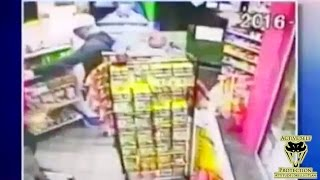 Armed Robber Loses His Patience | Active Self Protection