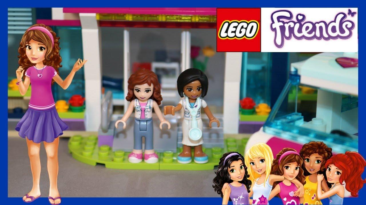 Lego Friends Heartlake Krankenhaus Teil 1 Demo Unboxing