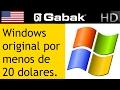 Windows original por menos de 20 dolares