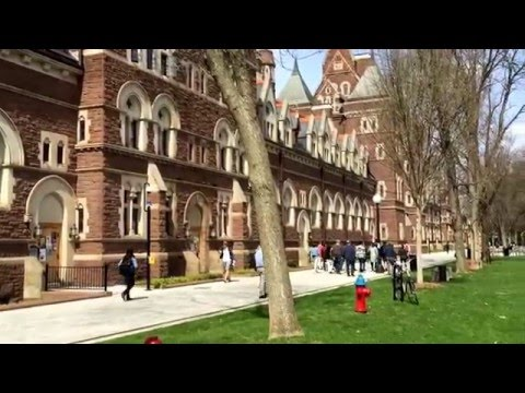 Trinity College Campus Tour Hartford CT Spring 2016