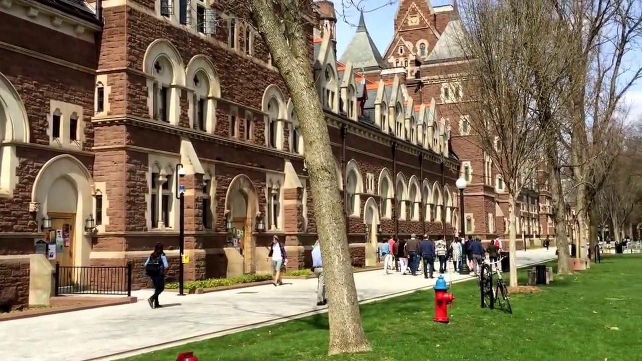 Trinity College Campus Tour Hartford CT Spring 2016