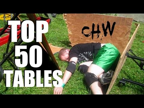 Top 50 Tables (Updated) CHW Backyard Wrestling from YouTube · Duration:  2 minutes 53 seconds