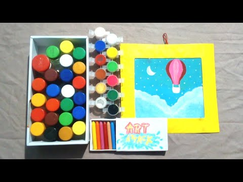 Art Attack Episode 2 || in Hindi || Canvas painting || Art Attack