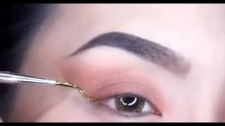 makeup for small eyes and round face,