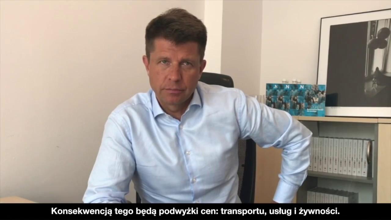 Ryszrd Petru o planowanej przez PiS podwyżce cen paliw