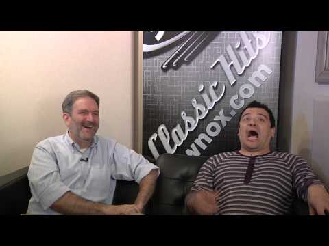 Frank Murphy interviews Carlos Mencia on the Classic Hits 93.1 Comedy Couch