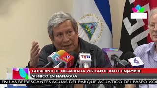 Multinoticias | Gobierno de Nicaragua vigilante ante enjambre sísmico en Managua