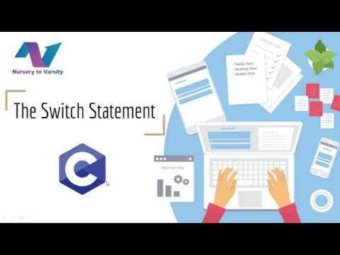 Switch-Case Default | C Programming | Tutorials
