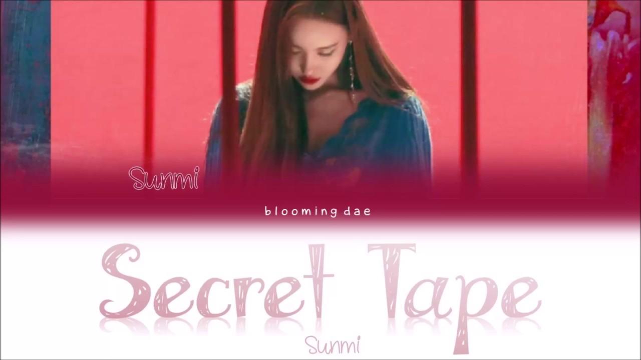 Sunmi - Secret Tape