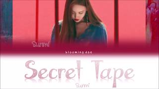 sunmi secret tape