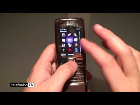 Nokia 8800 arte sapphire videoreview da telefonino.net