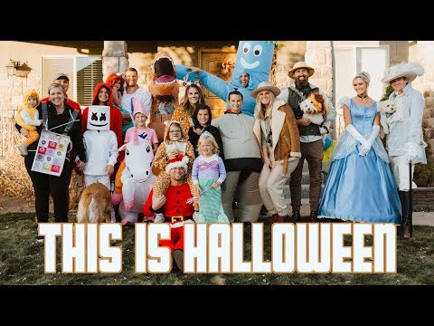 THIS IS HALLOWEEN | SECRET FLYING GHOST PROJECT REVEALED | FUN FAMILY HALLOWEEN COSTUME PARTY