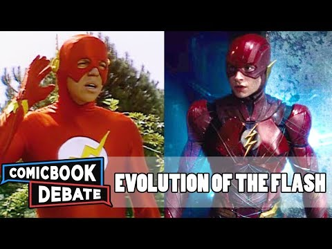 Thumbnail: Evolution of the Flash in Movies & TV in 9 Minutes (2017)