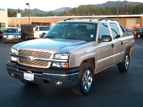 sold 2004 chevrolet avalanche 1500 z71 v1688 youtube. Black Bedroom Furniture Sets. Home Design Ideas