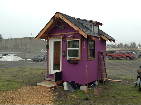 Homeless Camp Documentary and Village life. A real glimpse into the life. Tiny House