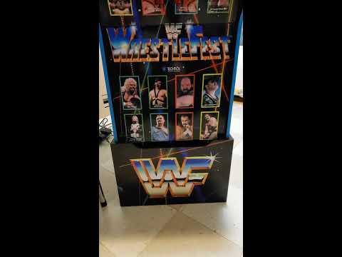 WWF Wrestlefest Arcade1up Modification Walk-through Video from Billy Vaux