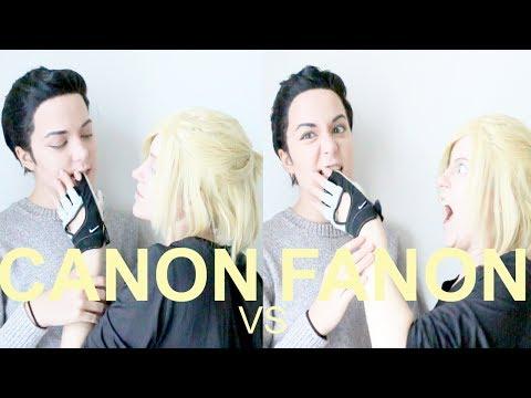 CANON vs FANON : OTAYURI / Otabek x Yurio