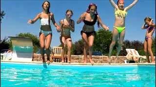 SUMMER MEMORIES : POOL PARTY ! Наше Лето 2017 . Водные развлечения