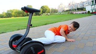 ALİ HOVERBOARD ARIYOR! Ride on Power Wheels, Video for children