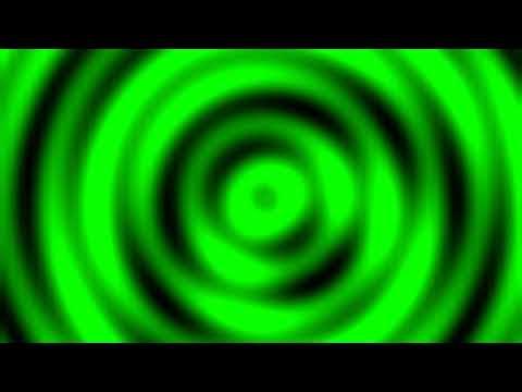 Green Screen Background Animated Radio Waves Chrome Key Footage Футаж Радио Волны Фон Хромакей 2