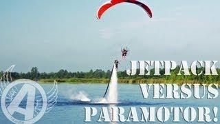 Jetpacks vs. Paramotors... A Duel.