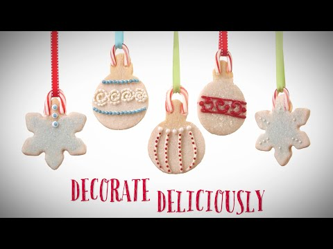 Holiday Ornament Cookies