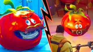 TOMATO HEAD FOUND *LOCATION*! FORTNITE SEASON 5 STORYLINE (ROAD TRIP SKIN SECRET)
