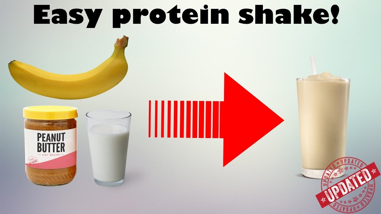 homemade protein shake for weight gain india