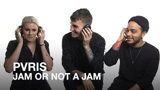 PVRIS play Jam or Not a Jam!