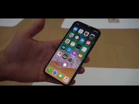 Hands on walkthrough Apple iPhone X!