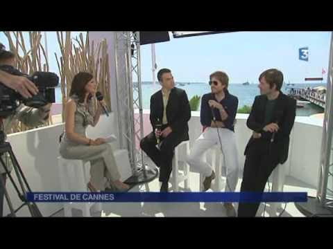 FESTIVAL DE CANNES 2011, les interviews - Serge Bromberg et du groupe Air