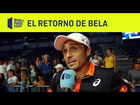 Así fue el retorno de Bela junto a Tapia tras su lesión | Cervezas Victoria Mijas Open
