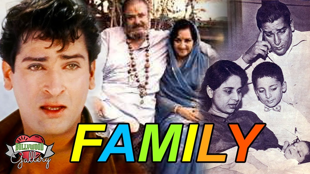 Download Shammi Kapoor Family With Parents, Wife, Son, Daughter, Brother, Nephew & Biography
