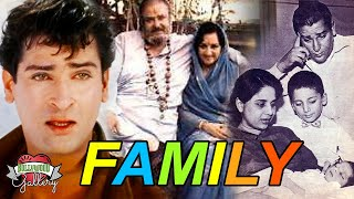 Shammi Kapoor Family With Parents, Wife, Son, Daughter, Brother, Nephew & Biography