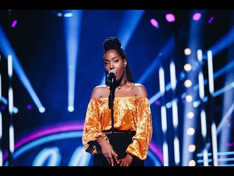 Jemima Hicintuka sjunger Scared to be lonely i Idols kvalfinal - Idol Sverige (TV4)