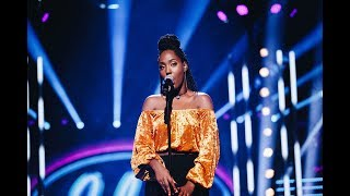Jemima Hicintuka sjunger Scared to be lonely i Idols kvalfinal - Idol Sverige (TV4)