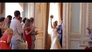 Анна и Роман. 09.07.14 Свадебная прическа и макияж невесты Надежда Зверева
