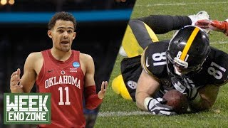 NFL Updates Catch Rule Play, Should Draft Rankings Be Affected By March Madness Performance? | WEZ